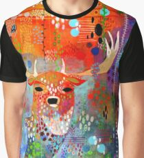 Deer in the Thicket Graphic T-Shirt