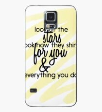 "Funda/vinilo para Samsung Galaxy ""Amarillo"" - Coldplay"