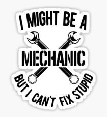 Mechanic Sticker