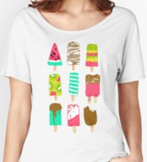 Ice Cream Time Women's Relaxed Fit T-Shirt
