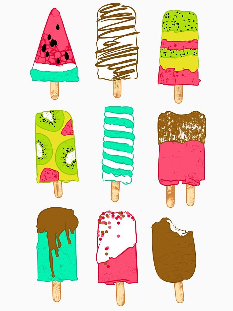 Tiempo de helado de Chuvardina