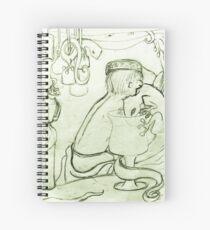 Cuaderno de espiral Rompecabezas de Lachlan joven: geckos