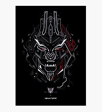 Megatron TF Photographic Print