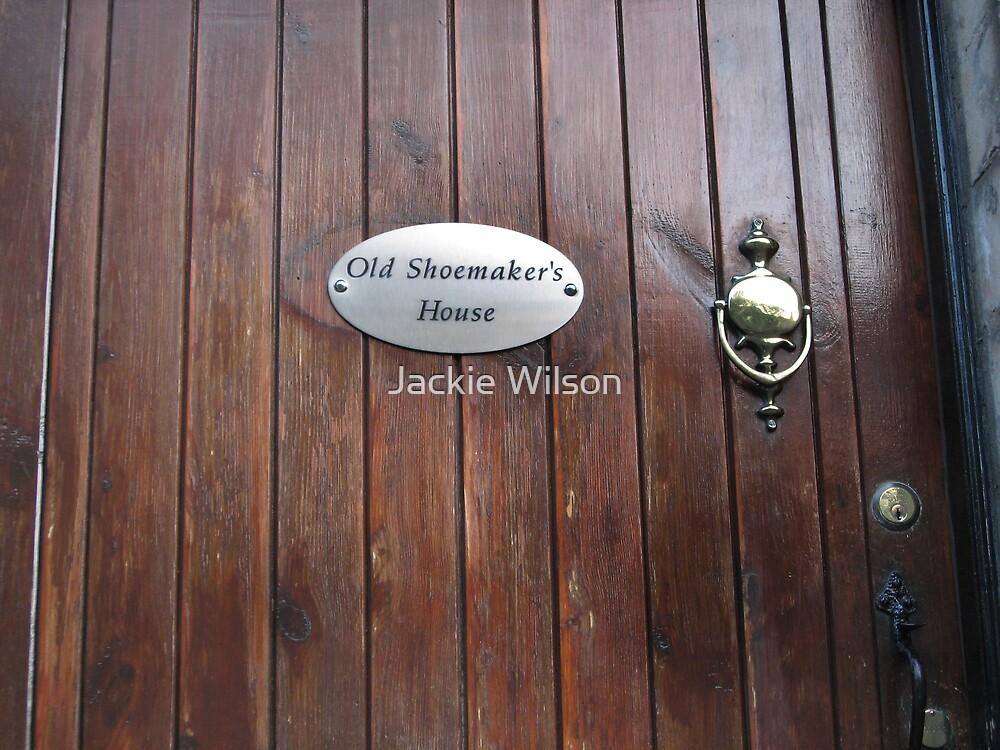 Old door in Culross by Jackie Wilson