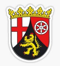 Rheinland-Pfalz Wappen, Deutschland Sticker