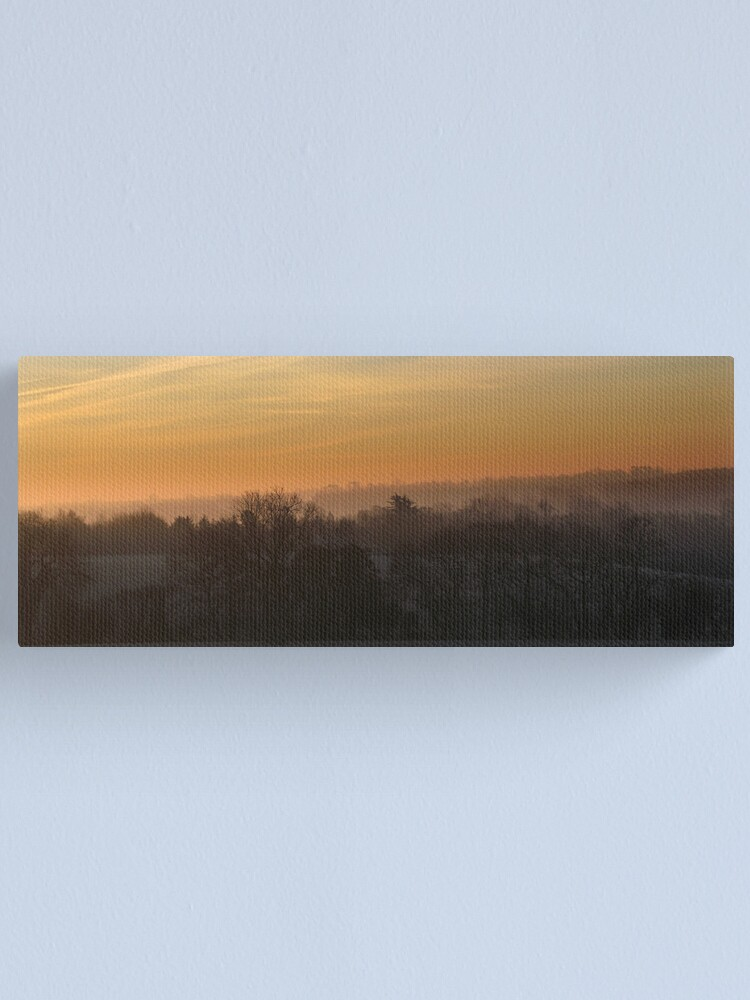 Alternate view of Valley Dawn Canvas Print