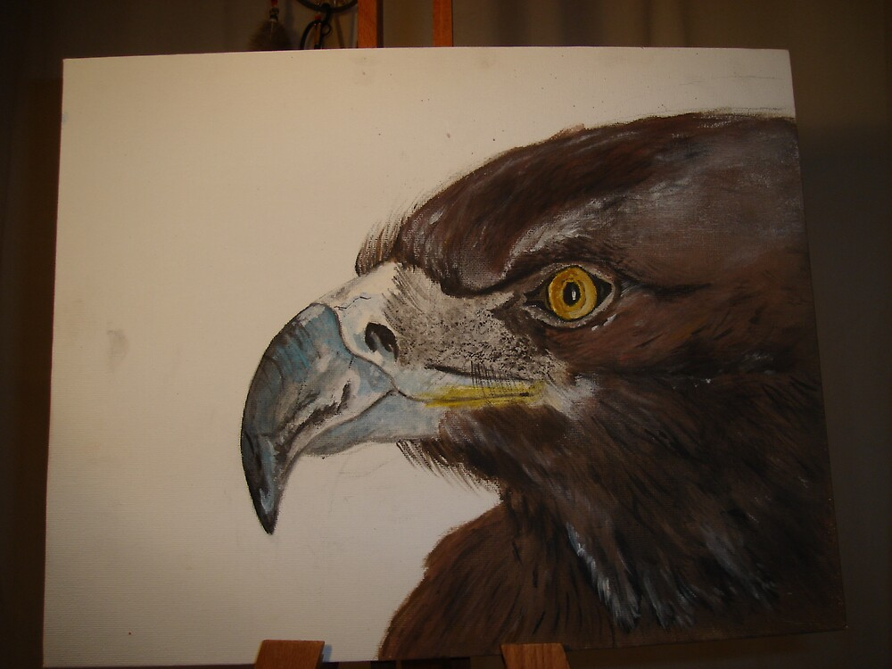 Golden Eagle,  by Ammaarah