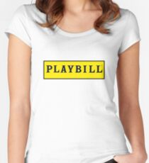 Playbill  Women's Fitted Scoop T-Shirt