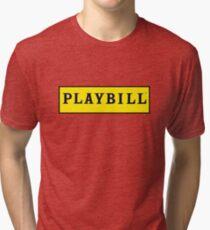 Playbill  Tri-blend T-Shirt