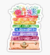 Diverse Books Sticker