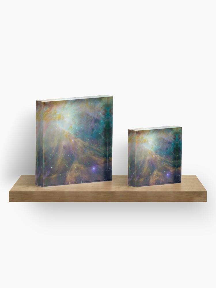 Alternative Ansicht von Orionnebel Acrylblock