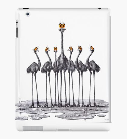 A Longneck and Six Stubbies (White) iPad Case/Skin