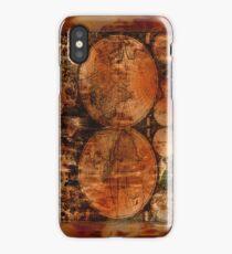 Grunge Vintage Old World Map iPhone Case/Skin
