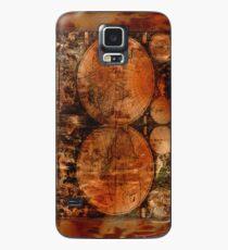 Grunge Vintage Old World Map Case/Skin for Samsung Galaxy
