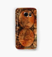Grunge Vintage Old World Map Samsung Galaxy Case/Skin