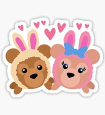 Bear Friends! Sticker