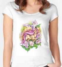 My Little Pony Fluttershy Women's Fitted Scoop T-Shirt