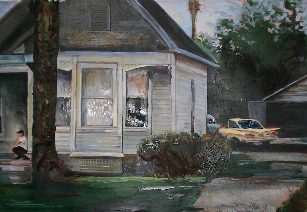 1960's suburbia by paintingeezer