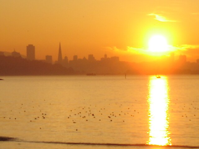 S.F. Holding up the Sun by clou