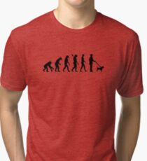 Evolution Jack Russel Tri-blend T-Shirt