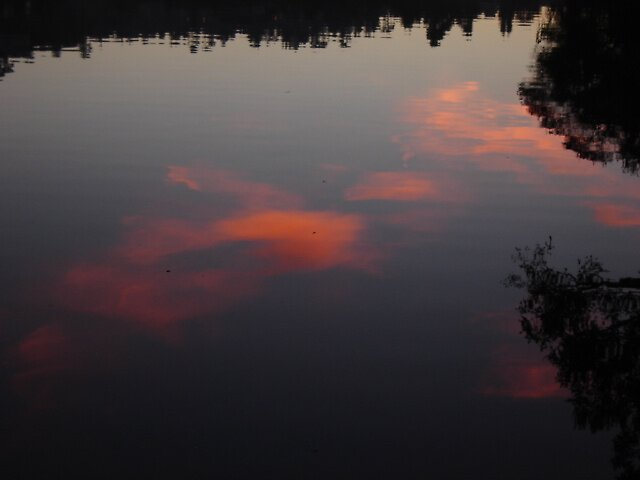 Reflected Sky by clou