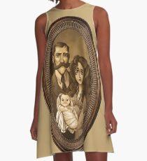 Jungle Family Portrait - 1 A-Line Dress