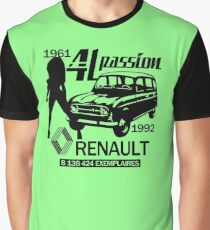 Renault 4L  Graphic T-Shirt