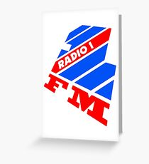Radio 1 - 1988 Greeting Card