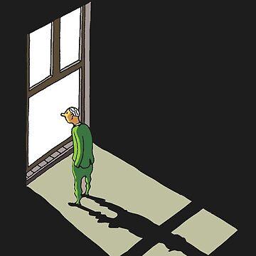 Lost in front of the window by BalbinaStudio