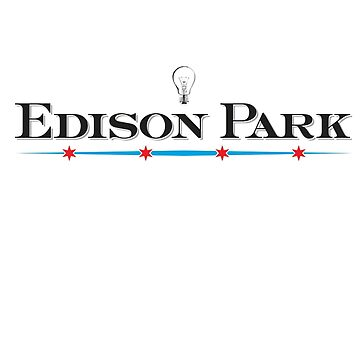 Edison Park Neighborhood Tee by velocitymedia