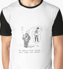 Freud in a slip Graphic T-Shirt
