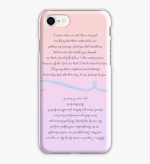 Captain Swan Wedding Vows iPhone Case/Skin