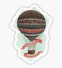 have love, will travel  Sticker