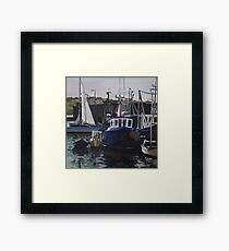 Dusk, Skerries Harbour Framed Print