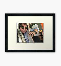 Kevin G-Host on Everything Framed Print