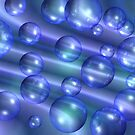 Blue bubbles by Annika Strömgren