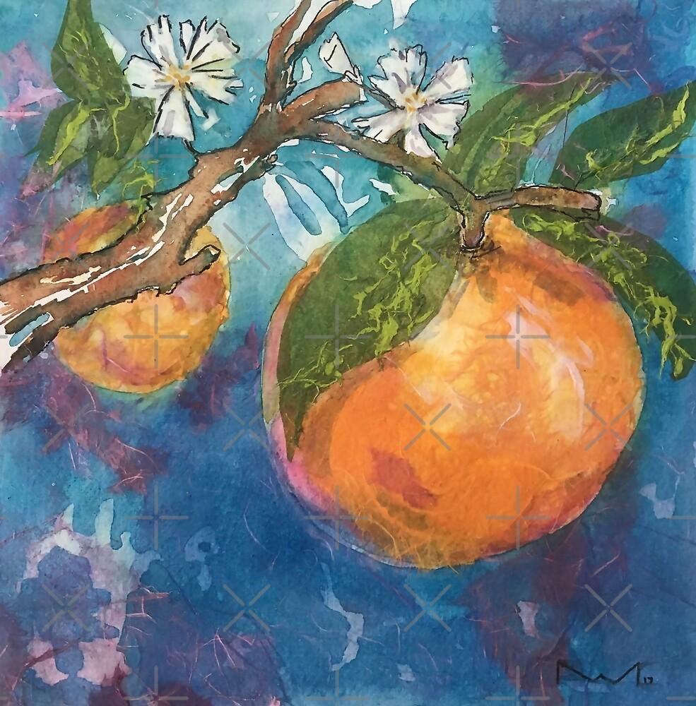 Orange Blossom Collage by toomignon