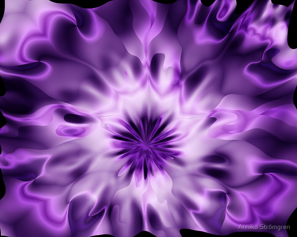 Purple abstract by Annika Strömgren