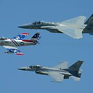 USAF Heritage Flight by ScottH711