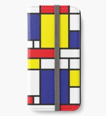 Mondrian Study I iPhone Wallet/Case/Skin