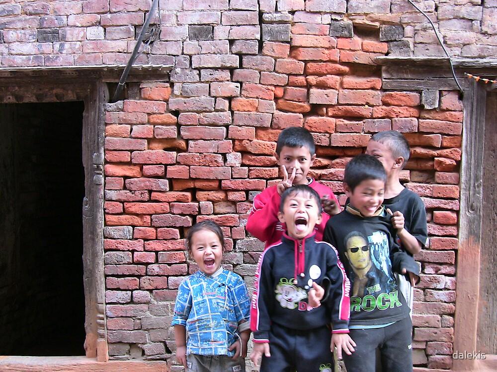 Kathmandu Kids by dalekis