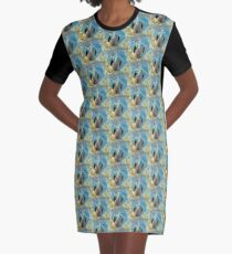 Moving Freely Graphic T-Shirt Dress