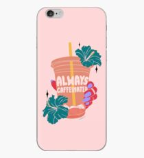 ALWAYS CAFFEINATED iPhone Case