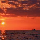 Fishing Boat Going Home by KaiserSoser