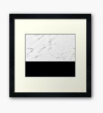 Tuscany marble Framed Print