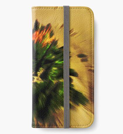 Moos in Bewegung iPhone Flip-Case