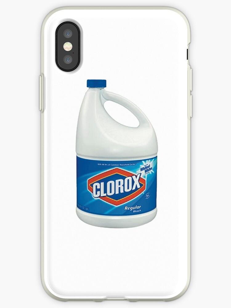 new concept 12107 cb7b2 'Clorox Bleach' iPhone Case by allex lisca