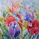 Tulips Loosley  by Mrswillow