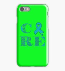 Cure - Turquoise iPhone Case/Skin