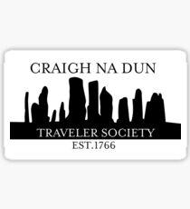Craigh Na Dun Traveler Society Sticker